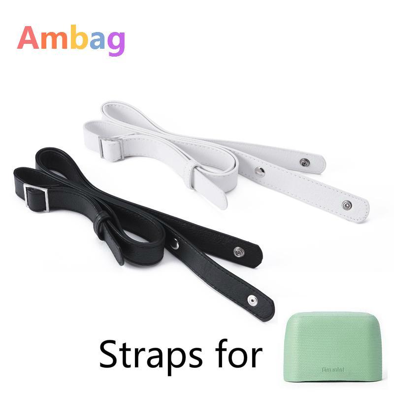 1 Piece Mini o Bag Handles For Handbags Shoulder Strap Parts Handbag Fullspot Leather Knit Rope bag Handle Accesorios Ambag