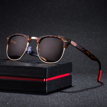 2019 Classic Polarized Sunglasses Men Women Retro Brand Designer Semi Rimless Half Square Frame Sun Glasses UV400 Oculos De Sol цена и фото