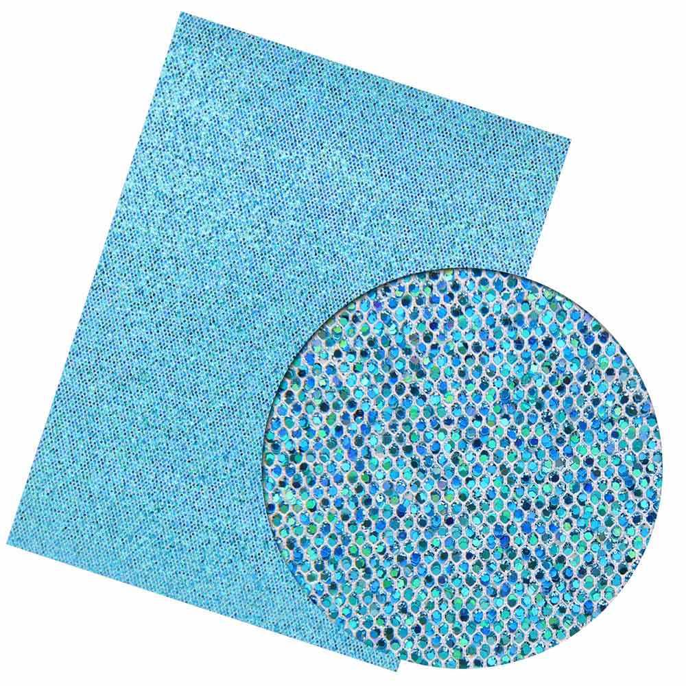 IBOWS 22 cm * 30 centímetros Brilhante Lantejoulas A Laser Chunky Glitter de Couro Sintético Tecido Patchwork DIY Acessórios Sacos de Sapatos de Tecido material