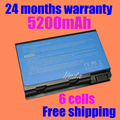 Jigu bateria do portátil para acer aspire 3100 3103 3690 5100 5101 5102 5110 5610 5630 batbl50l8h bt.00803.015 lc. btp01.017 batbl50l6