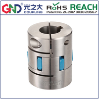 flexible coupling GFCG stainless steel plum type clamping series Shaft Couplings GFCG D95XL126 GFCG D80XL114