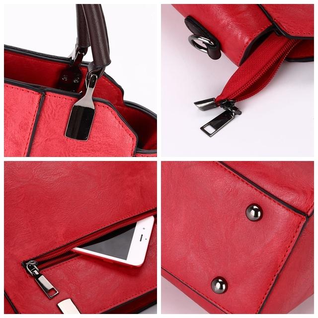 SUNNY SHOP 2018 New Metal Top Handle Tote Bag Tassel Women Purse And Handbags Vintage OL Business Shoulder Bags For Women