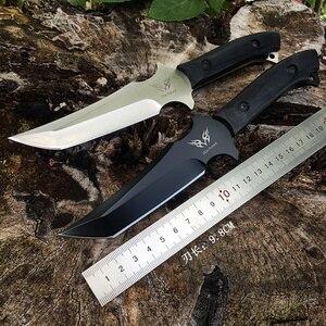 Image 5 - Quân sự Tanto Chiến Thuật Dao Cố Định Blade Full Tang cho Cắm Trại Ngoài Trời Survival HUNTING RESCUE DAO Tự Vệ Bowie Dao