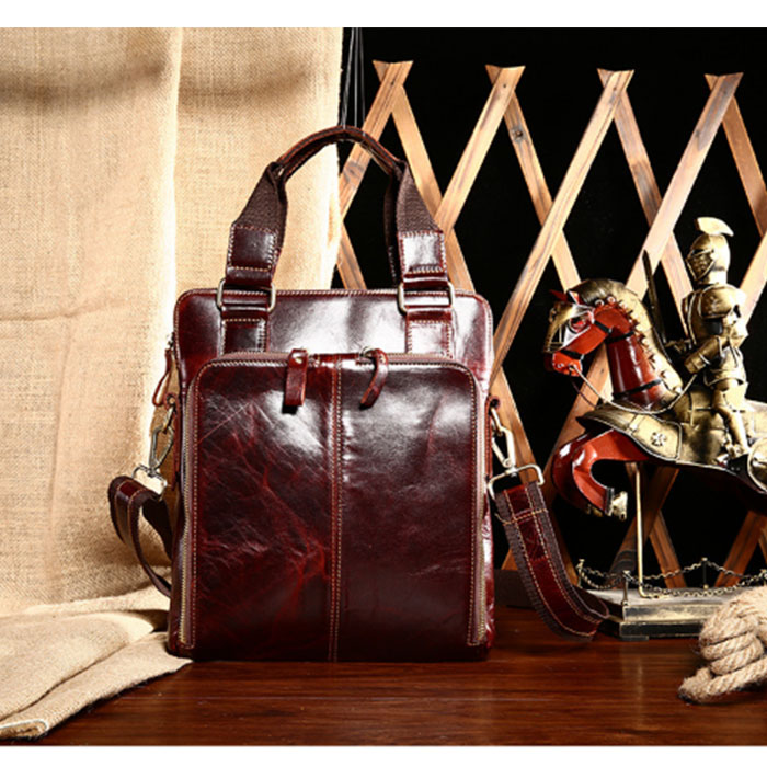 Genuine Leather handBag Business Handbags Cowhide Men Crossbody Bags Men's Travel shoulder Bags Tote Laptop Briefcases Bag 17inches laptop business travel bags genuine leather men bag shoulder bag fashion cowhide tote crossbody briefcases handbags