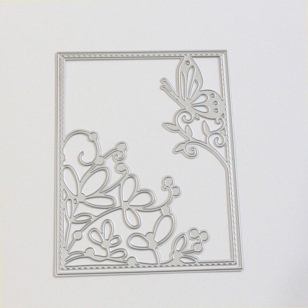 Flower Metal Cutting Dies Stencil for DIY Scrapbooking Album Paper Card Craft