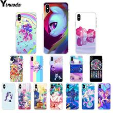 Чехол Yinuoda Magic My Little Pony для мобильного телефона Apple iPhone 8 7 6 6 S Plus X XS MAX 5 5S SE XR(China)
