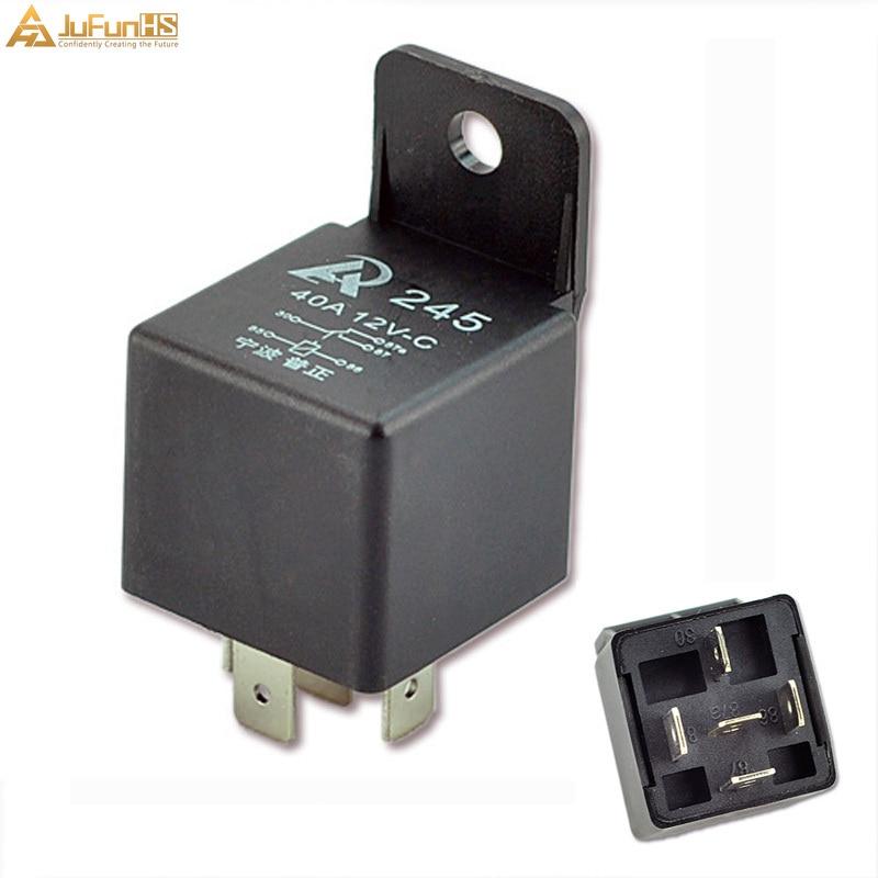 Car Relay 12v 40a 5 Pin Spdt Premium Auto Relays 40 Amp