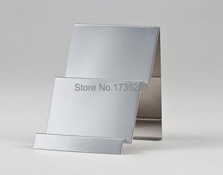 Cremalheira de Exposição Carrinho de Exposição da Bolsa da carteira Saco de Dupla camada de Exibição Titular Rack De Metal Em Aço Inoxidável acessórios para móveis