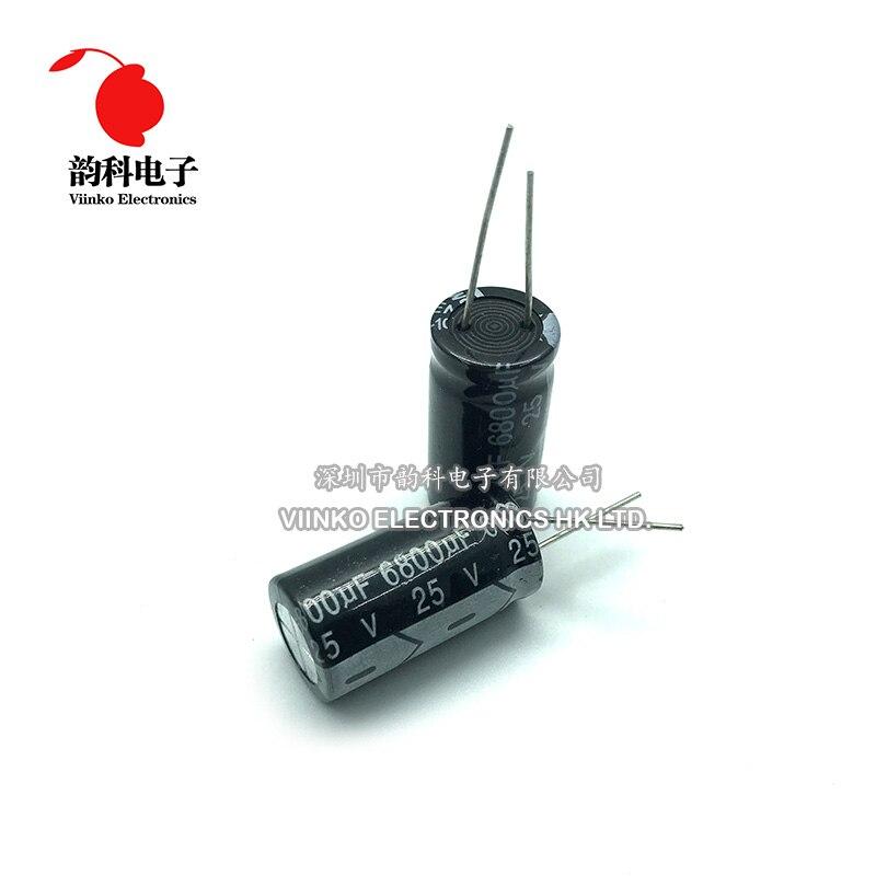 20 x 100uF 50V 105C Radial Electrolytic Capacitor 8x12