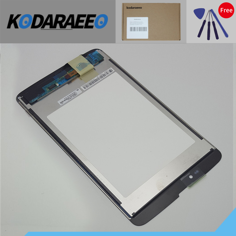 kodaraeeo For LG G PAD 8.3 V500 3G Version Touch Screen Digitizer Glass+LCD Display Assembly Replace Parts high quality for lg g pad 8 3 v500 wifi version lcd display panel module touch digitizer glass screen assembly free shipping