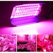 Светодиодный светильник для выращивания растений 100 Вт 50 Вт полный спектр фитолампа водонепроницаемый COB светодиодный светильник для выращивания растений цветы IP65 Фито лампа 220 В