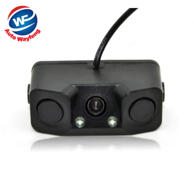 3 in1 Parking font b Camera b font Sensors Black Sensors Reversing Radar Car Rearview Rear