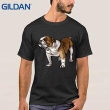 Clothes Customized tee shirt Hip chinese English Bulldog Skateboard Dog Art for men t-shirts shop sales funny shirtsfunny shirts