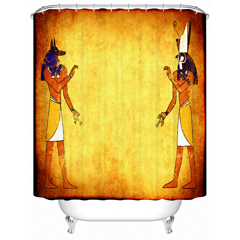 Ancient egyptian table - High Quality Shower Curtain Ancient Egyptian Style Picture Waterproof Shower Curtain Beautiful Furniture Component China