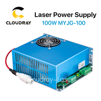 100W CO2 Laser Power Supply For CO2 Laser Engraving Cutting Machine MYJG 100