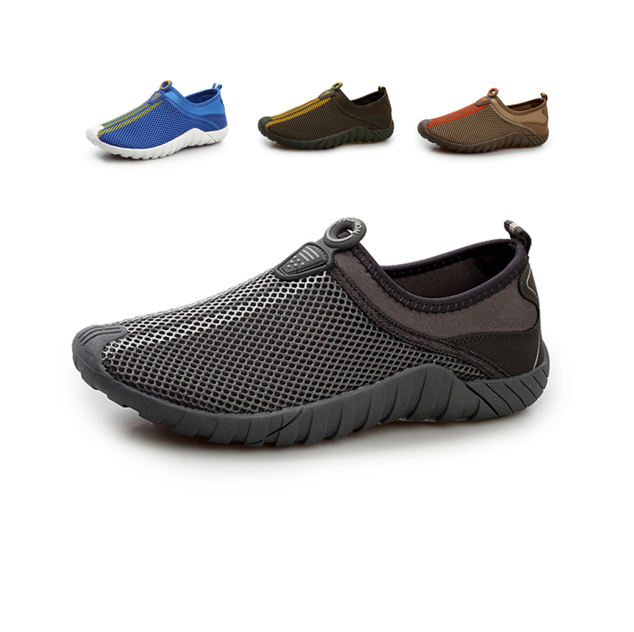 65b950295b5c Breathable Summer Mesh Shoes Men New 2015 Casual Women Slip On Shoes  Outdoor Lightweight Beach Water Shoes Walkng Sapatos