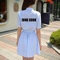 Vestido New Arrival Real Natural Long Dress 2016 Summer Bangtan Boys Dress Kpop News Bts Jungkook J-hope Jumper Jimin Cotton