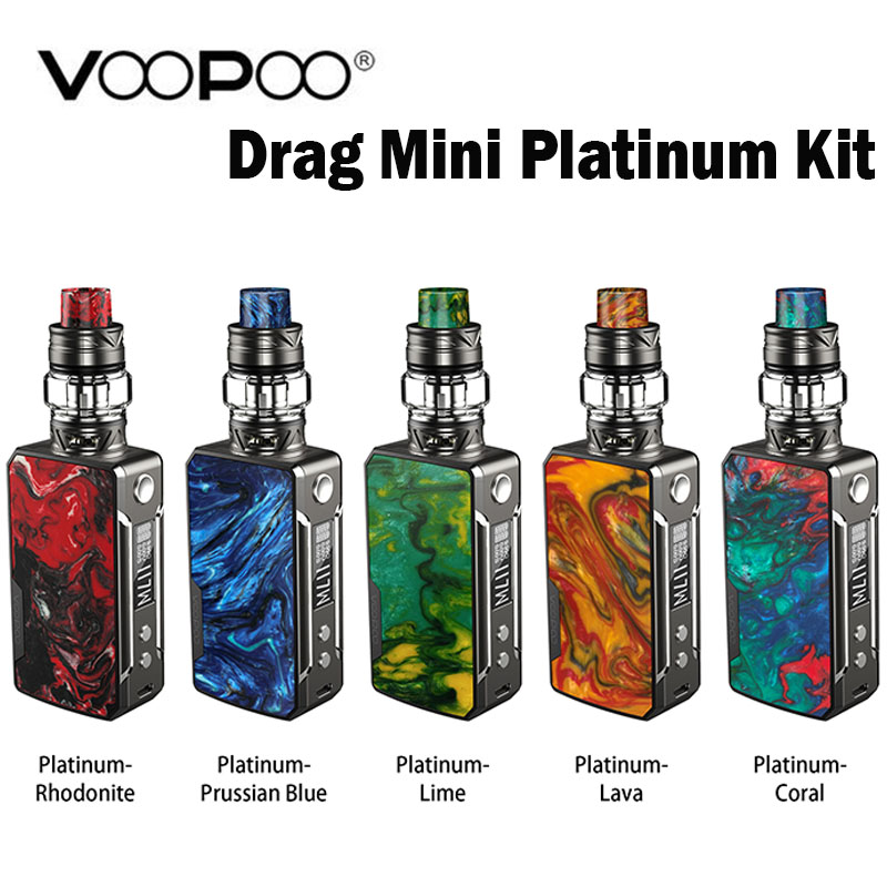 VOOPOO Drag Mini Platinum Kit Vape Built in 4400mAh battery and UFORCE T2 Tank 5ml withUforce
