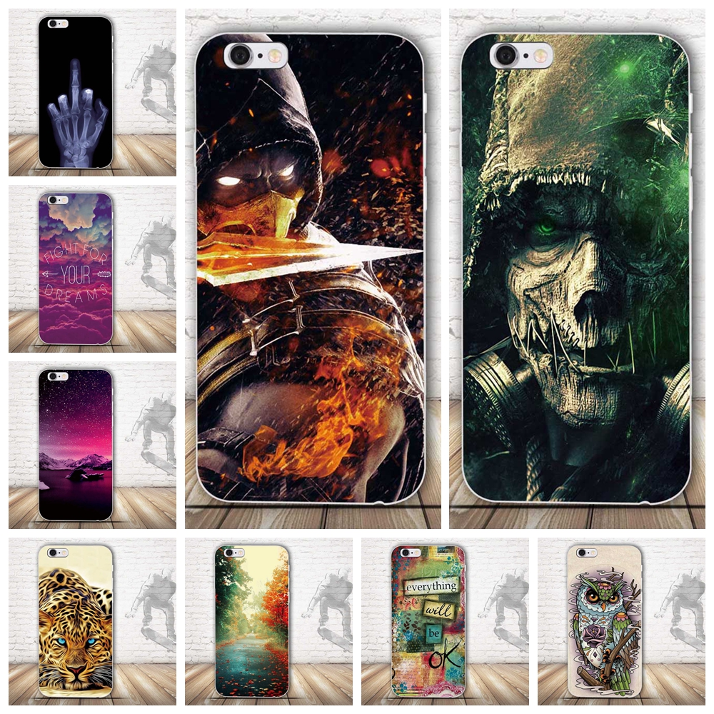 For iPhone 5S Case TPU 4.0