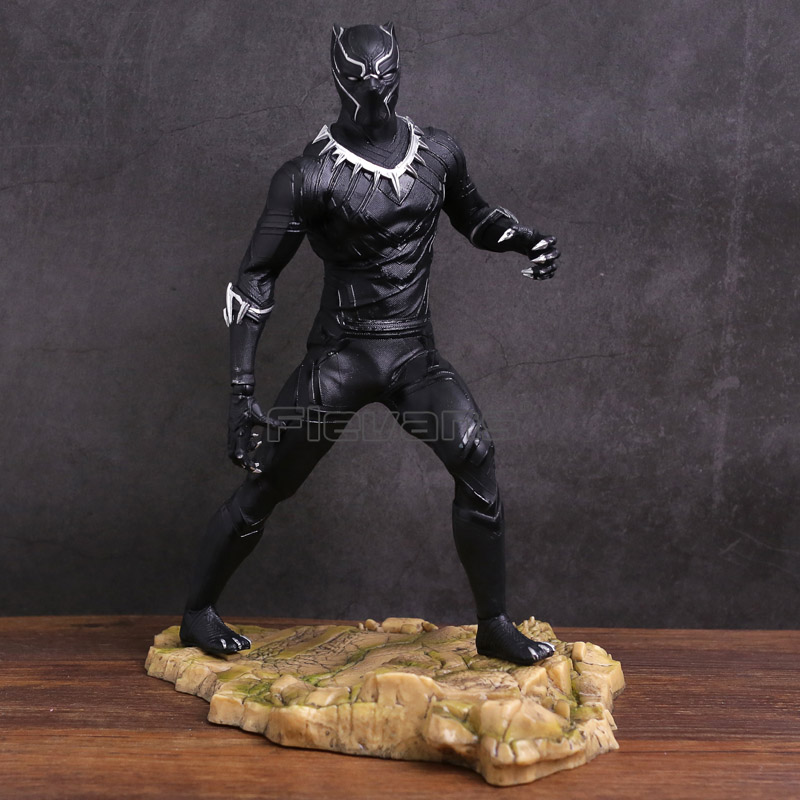 HC TOYS Black Panther Divided We Fall PVC Figure Collectible Model Toy divided loyalties