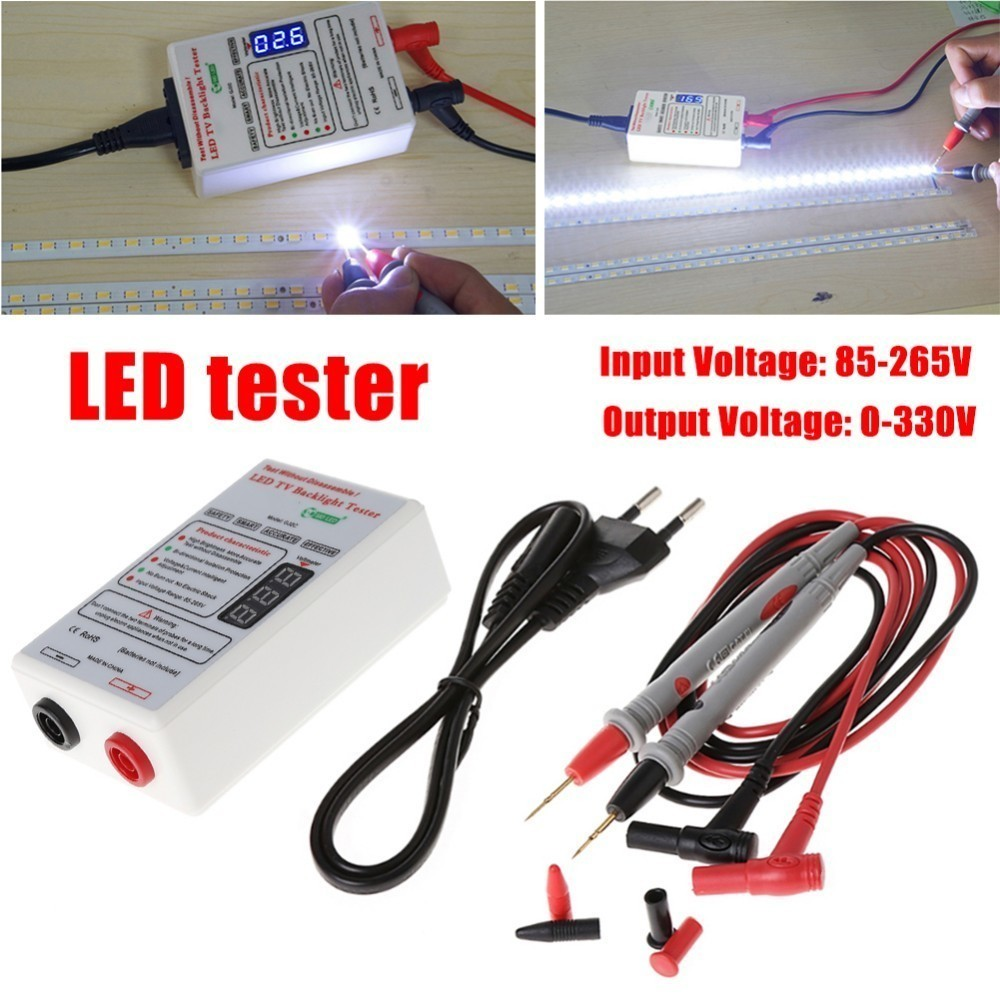 0 330V Smart Fit Voltage Test LED Backlight Tester Tool Screen LED LCD TV Backlight Tester Meter Tool Lamp Bead Light Board Test in Battery Testers from Tools