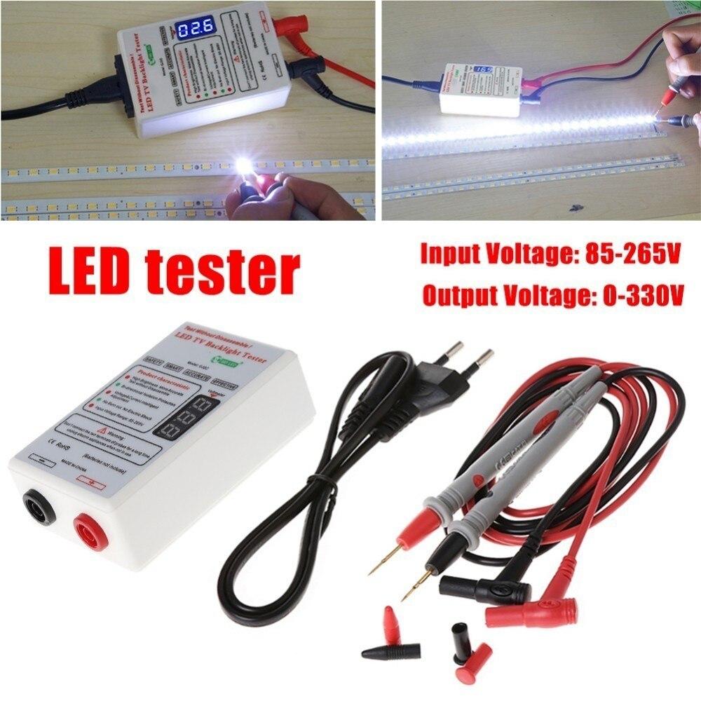 0-330V Smart-Fit Voltage Test LED Backlight Tester Tool Screen LED LCD TV Backlight Tester Meter Tool Lamp Bead Light Board Test