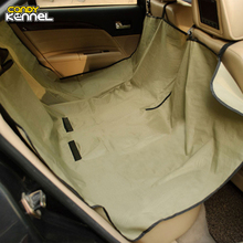 CANDY KENNEL Dog Carriers Waterproof Rear Back Pet Dog Car Seat Cover Mats Hammock Protector D1046