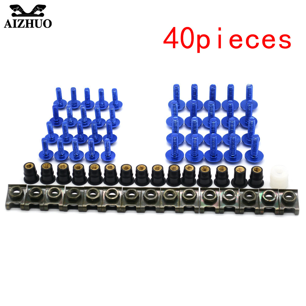 Motorcycle Accessories Windscreen Fairing Bolts Nut Screws Washer for BMW R1200GS ADVENTURE R1200R R1200RT R1200S R1200ST S1000R
