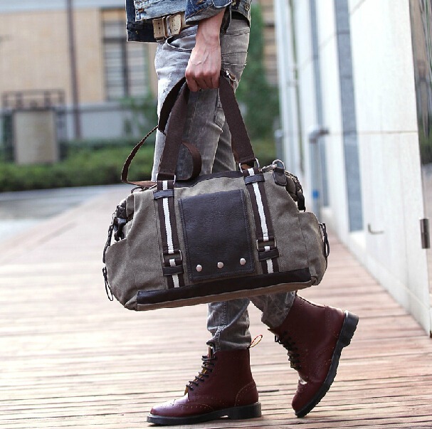 Aliexpress.com : Buy 2014 new men's retro travel bags male sport ...