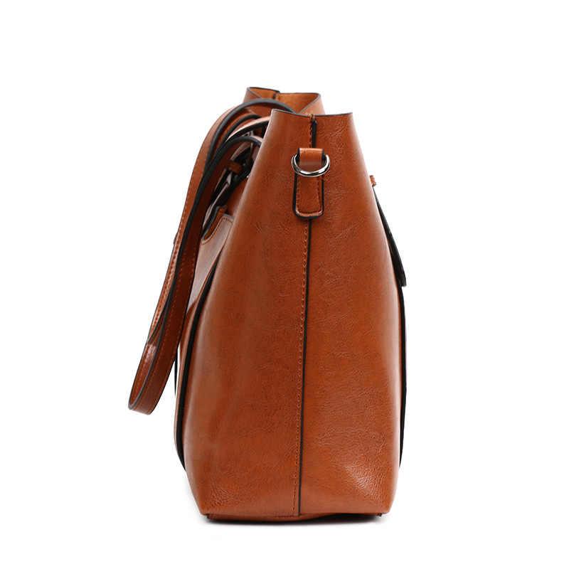 Sacos de couro genuíno para as mulheres 2018 moda feminina bolsas de ombro grande capacidade padrão bolsas femininas sacos do mensageiro n406