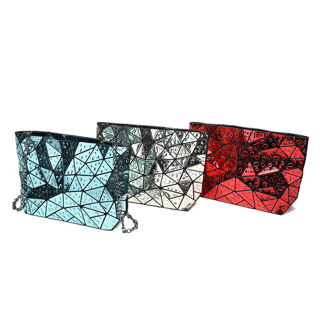 Women's Clutch Chain shoulder hologram bag  3