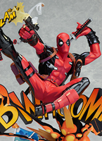Deadpool Breaking The Fourth Wall PVC Figure Collectible Model Toy 20cm