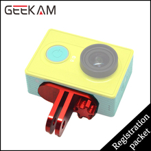 GEEKAM Aluminum Alloy Protective Frame Case Mount Adapter With Screw For Sports Cam Action Camera Accessories