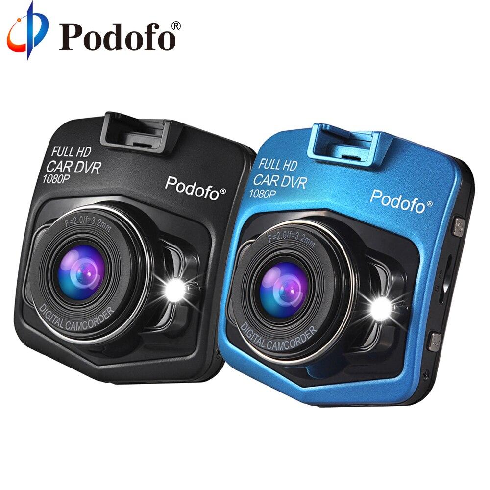 Podofo A1 Mini Car DVRs Camera Full HD 1080P Dash Cam Recorder Video Registrar Night Vision Blackbox Carcam Dash Camera Dashcam