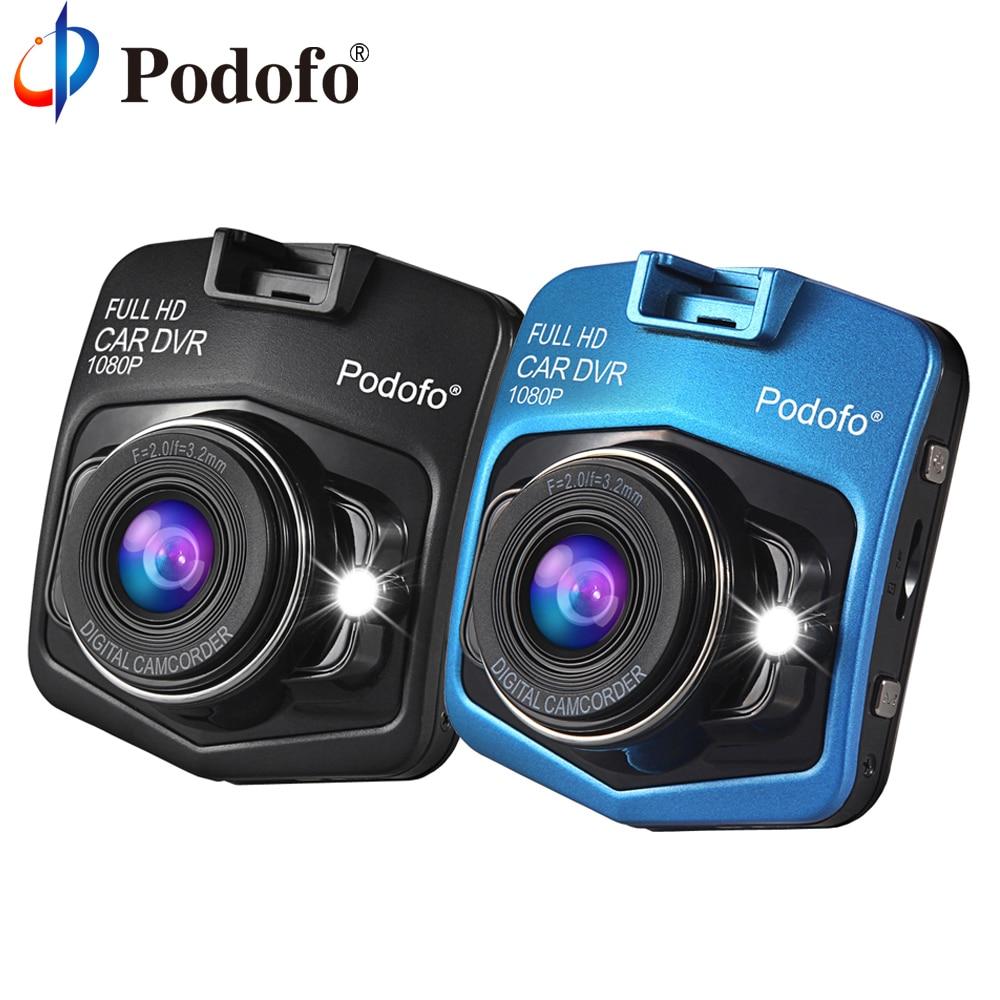 Podofo A1 Mini Voiture Dvr Caméra Full HD 1080 P Dash Cam Enregistreur Vidéo Registraire de Nuit Vision Blackbox Carcam Dash Caméra Dashcam