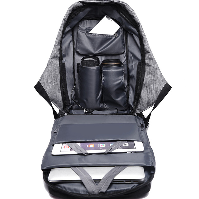 bobby backpack Anti Theft Backpack Kid 2018 Men Women USB Black 15inch Laptop Fashion Travel School Bags Bagpack Drop Shipping