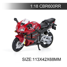 Maisto 1:18 Motorcycle Models CBR600RR Model bike Alloy Motorcycle Model Motor Bike Miniature Race Toy For Gift Collection 1 10 maisto motorcycle toy alloy yamaha honda motorbike model racing motor miniature car models kids toys gift