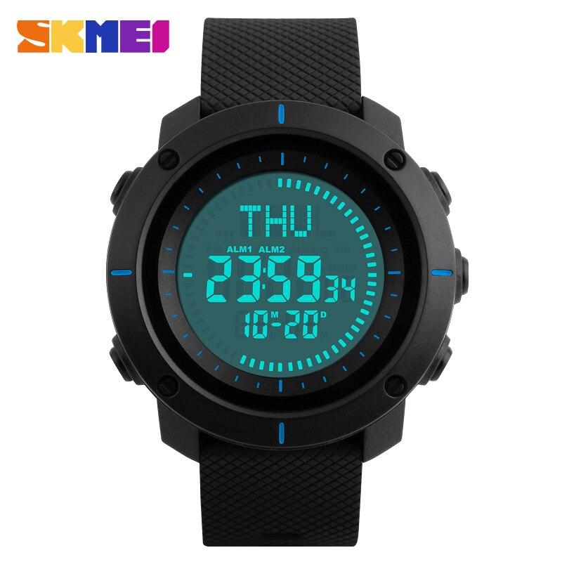 SKMEI Compass Sport Horloges Heren Wereldtijd Outdoor Waterproof - Herenhorloges