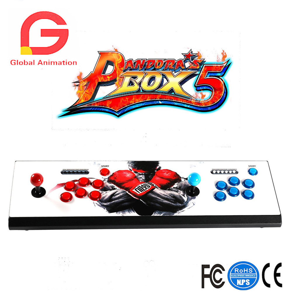 Pandora's Box 5 LED Arcade Game Console 960 Games 2 Player