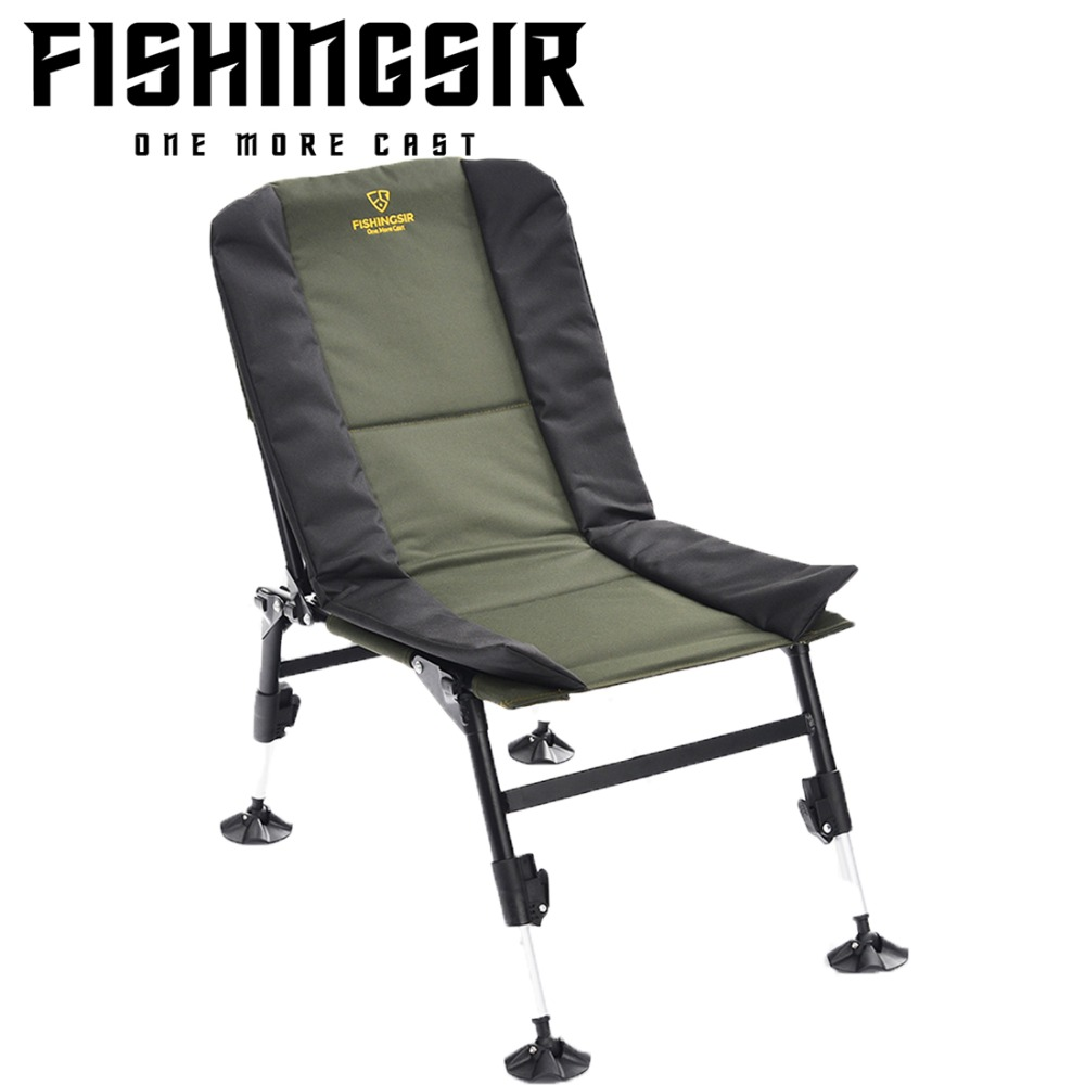 Outdoor Portable Ultimate Breathable Folding Picnic Fishing Camping Chairs w/ Adjustable Legs Multifunctional Tackle ultimate hdc 1150b w silver alu
