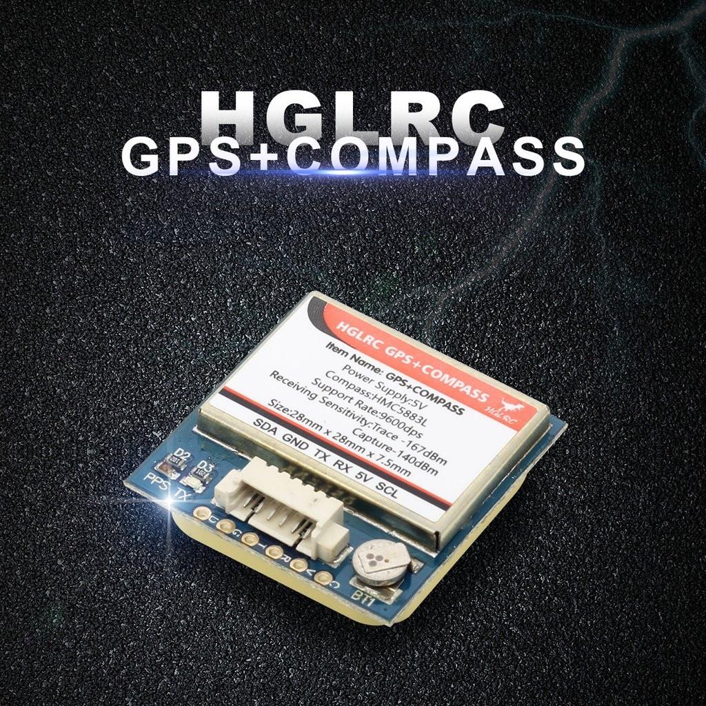 HGLRC GPS & boussole U8 GPS & HMC5883L boussole pour Drone de course FPV Quadcopters RC pour enfants a612