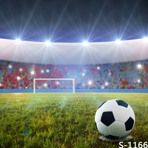 8x8FT Spots Light Football Soccer Field Stadium Audience