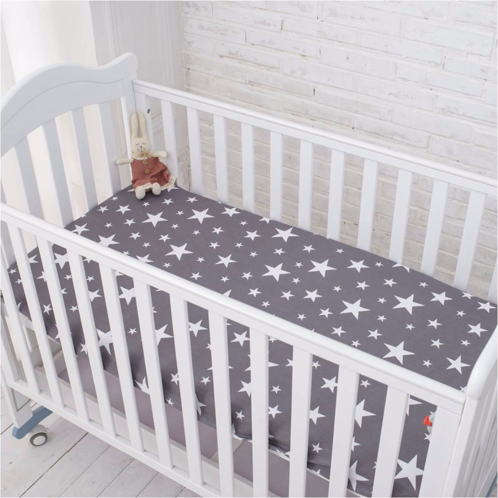Baby bed pictures - Muslinlife Grey Star Bedding Set Multi Functional Baby Safe Sleeping Baby Bed Bumpers Set Soft Baby Cot Bed Hanging Storage Bag In Bedding Sets From Mother