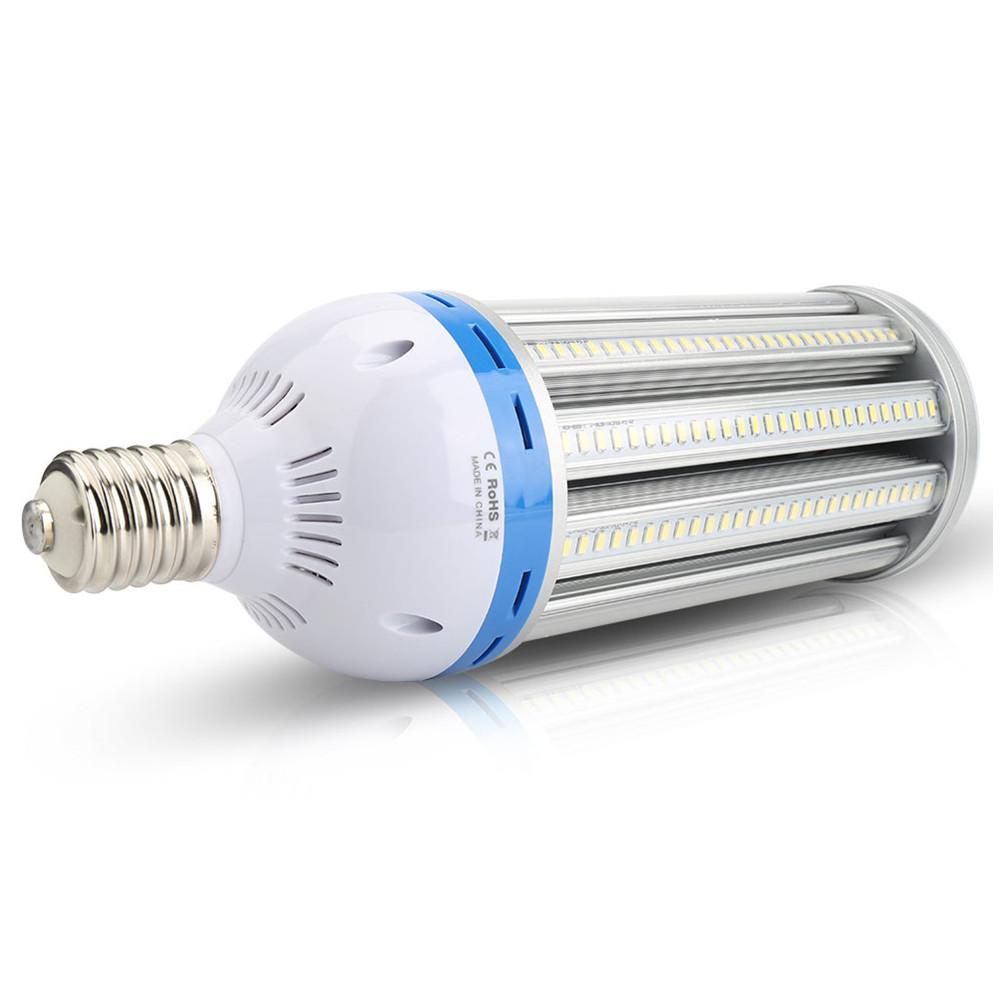 (4pcs/Lot) E40 100W 288 SMD5730 High Power LED Corn Light 85-265V Warm/Cold White AC85-265V Corn Bulb Lighting Fixture Wholesale flaming fire e27 led corn bulb warm white 3 5w smd3528 99leds ac85 265v 300lm bombillas led for frosted lampshade lighting