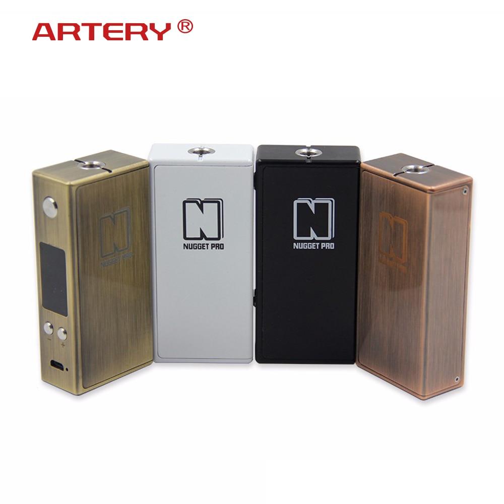 E Cigarette artère pépite Pro 80 W TC boîte Mod 3300 mah batterie interne 510 fil Vape Mod