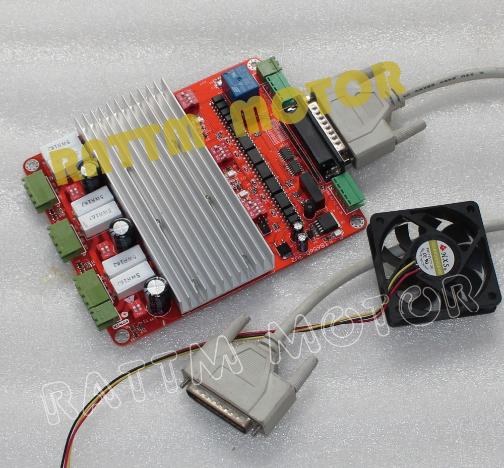 3 axis cnc controller tb6560 stepper motor driver board v for Cnc stepper motor controller
