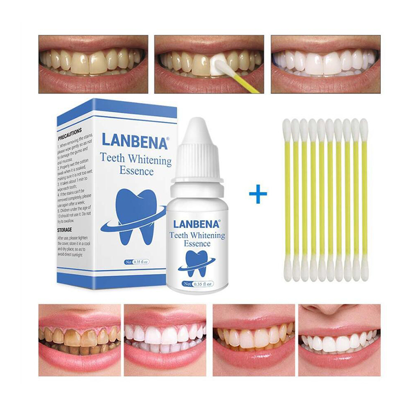 Teeth Whitening Essence Powder Oral Hygiene Cleaning Serum Activated Coconut Cleasing Packing Premium Daily Use makeup set