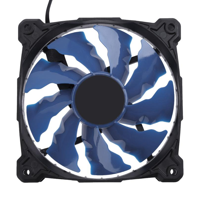 Water Liquid Freezer Water Liquid Cooling System CPU Cooler Fluid Dynamic Bearing 120mm Fan with Blue LED Light CPU Cooling Fan water cooler radiator for computer cpu water cooling with led ring 4pin 120mm pwm fan and aluminum heatsink liquid cooling