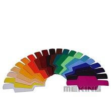 Selens SE-CG20 Color Balance Gels Filter for DSLR Camera Speedlight Flash Strobist Photo Workshop Studio Pop Poster Vintage Art