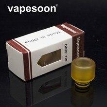 VapeSoon 510 PEI Drip Tip For E Cigarette 510 Thread Atomizer Such AS MELO 3 MINI TFV4 MINI Retail Package